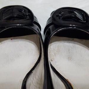 Etienne Aigner Shoes - Etienne Aigner Women's Sz 7M With Buckle On Toe Bl